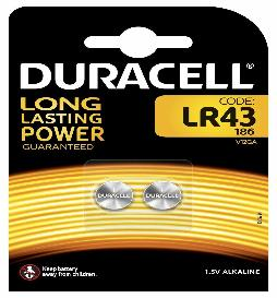 Bateri Alkaline LR43 189 V12GA
